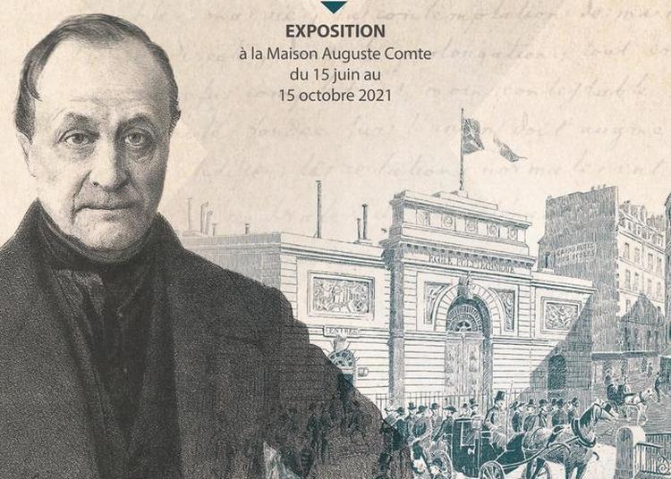 Exposition Auguste Comte, Enfant Terrible De L'École Polytechnique à Paris 6ème