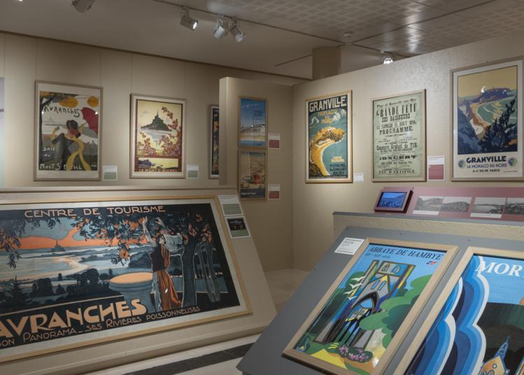 Exposition : Bienvenue Dans La Manche ! La Collection D'affiches Anciennes Des Archives De La Manche à Saint Lo