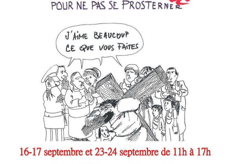 Exposition Caricatures Et Théologie, Des Images Pour Ne Pas Se Prosterner! à Le Mans