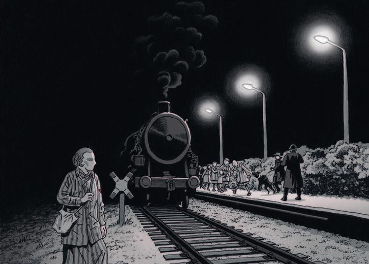 Exposition Chroniques De Francine R., Résistante Et Déportée, Bd De Boris Golzio (éditions Glénat) à Reims