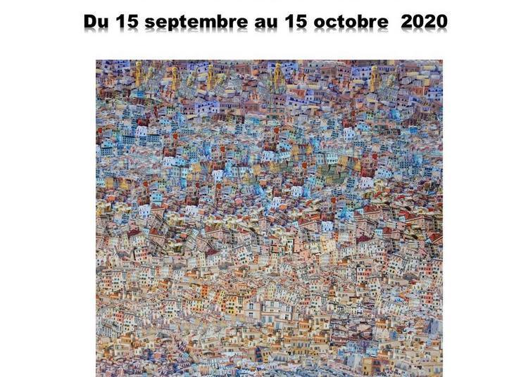 Exposition Chrsitine Béglet Collages à Riberac