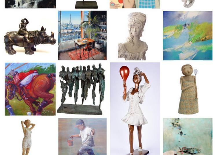 Exposition collective estivale à la Galerie Laute à Rennes