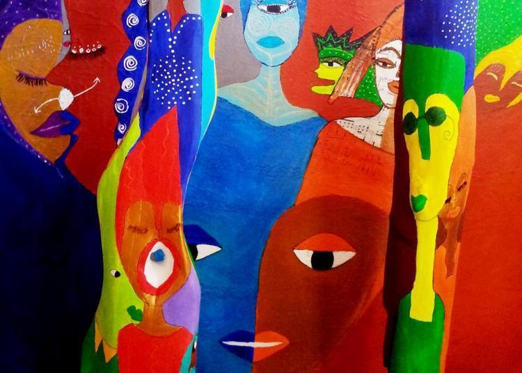 Exposition Cuba et les Orishas de Aconcha artiste multifacette franco-cubaine à La Riche