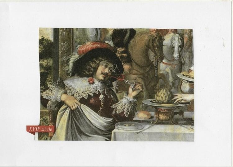 Exposition Cuisine Au Moyen-Âge Et Au Xviie Siècle à Severac le Chateau