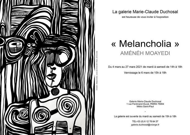 Aménéh Moayedi « Melancholia » à Paris 4ème