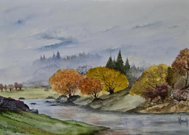 Exposition d'aquarelles à Hautvillers