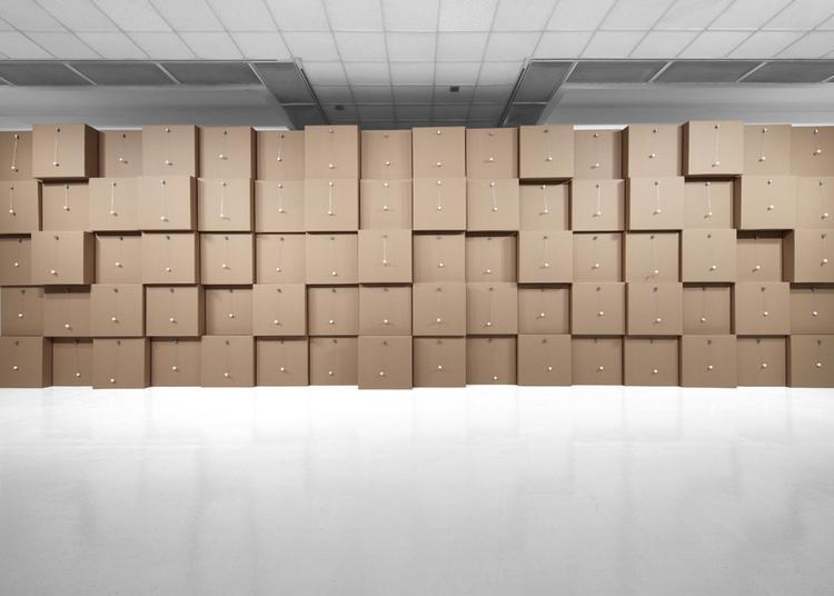 Zimoun // Exposition d'art contemporain à Meisenthal
