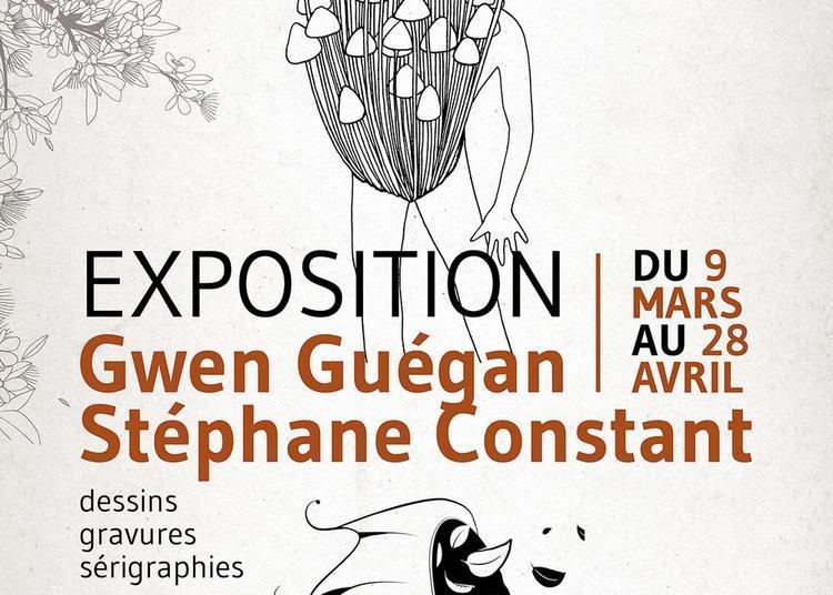 Exposition d'art graphique, gravure, sérigraphie à Jugon les Lacs