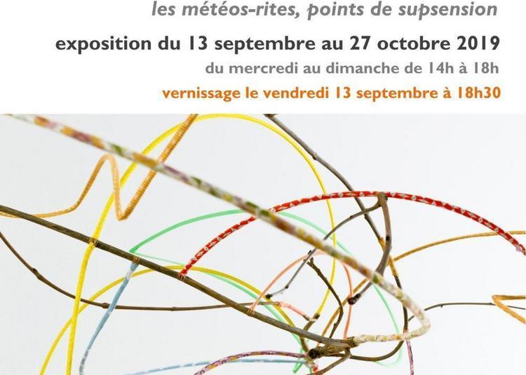 Exposition :  Les Météos-rites, points de suspension à Valaurie