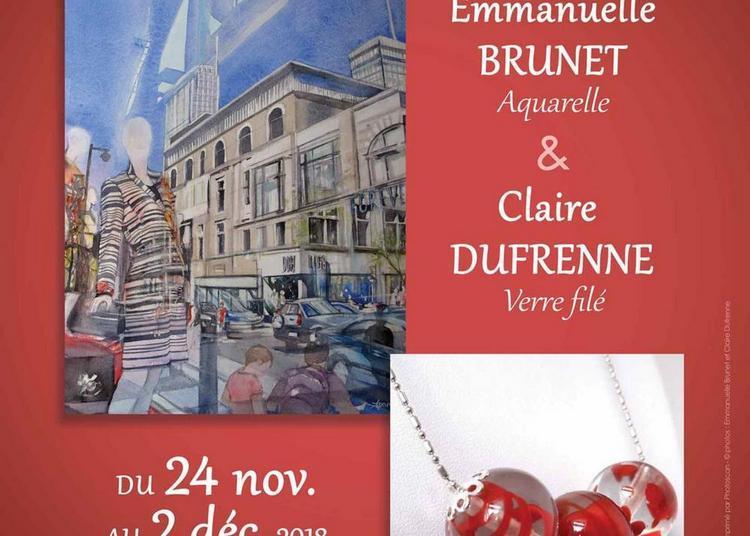 Exposition d'Emmanuelle Brunet et de Claire Dufrenne à Ballan Mire