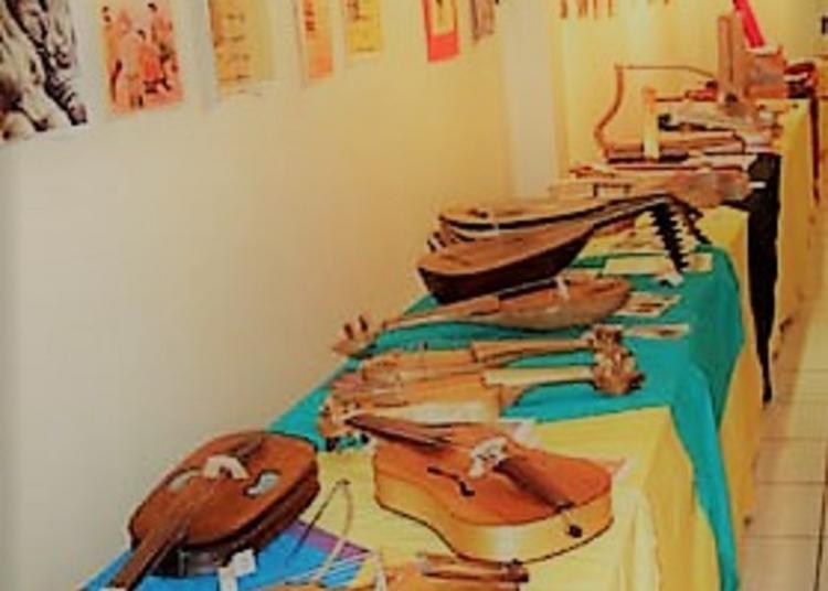 Exposition D'instruments Médiévaux à La Maison éclusière à Parcieux