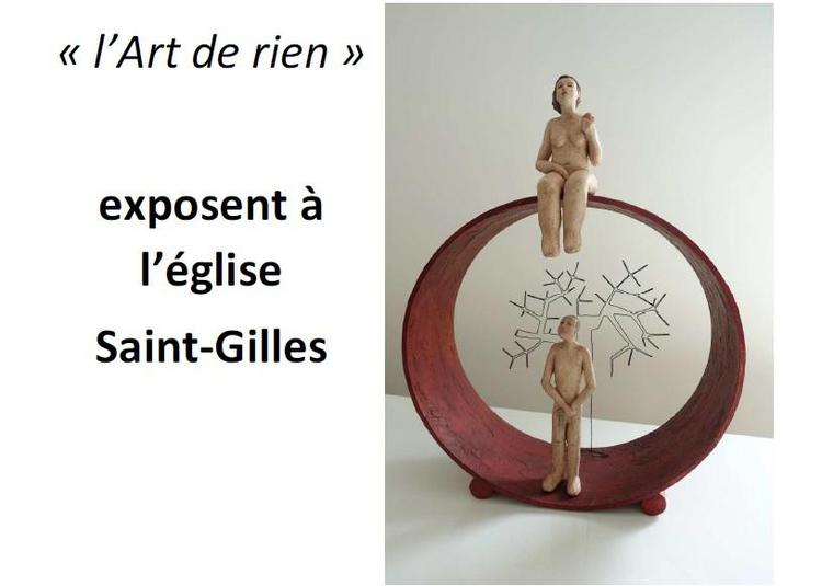 Exposition d'Objets d'Art décoratifs à Ambialet