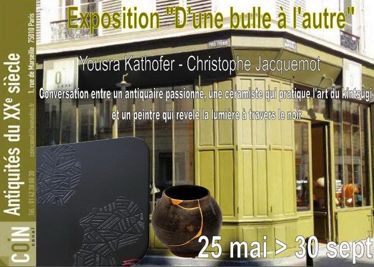 Exposition D'une Bulle à l'autre à Paris 10ème