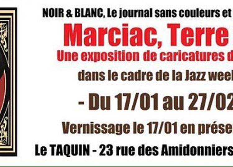 Exposition De Caricatures D'artistes De Jazz à Toulouse