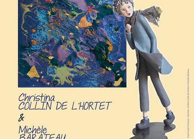 Exposition de Christina Collin de L'Hortet et de Michèle Barateau à Ballan Mire