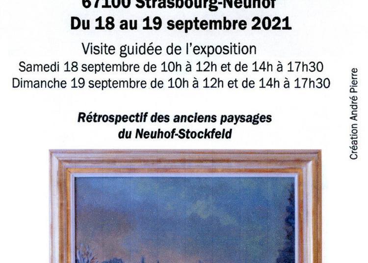 Exposition De Dessins Et Peintures Sur Le Neuhof-stockfeld à Strasbourg
