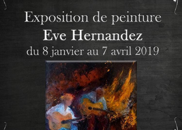Exposition de l'artiste-peintre Eve Hernandez à Arandon