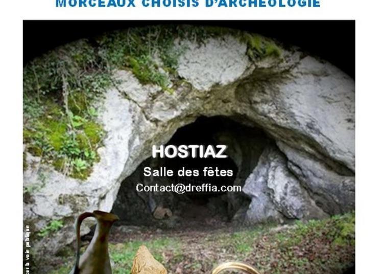 Exposition De L'association Le Dreffia En Partenariat Avec Archéologie Préhistorique Entre Rhône Et Saône Et Le Département De L'ain à Tenay