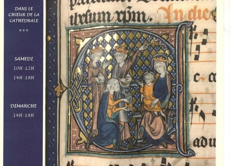 Exposition De Manuscrits Médiévaux à Auxerre