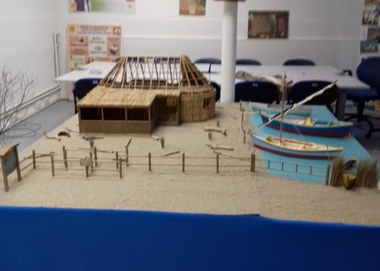 Exposition De Maquettes De Baraques De Pêcheurs Et De Barques Traditionnelles Catalanes à Le Barcares