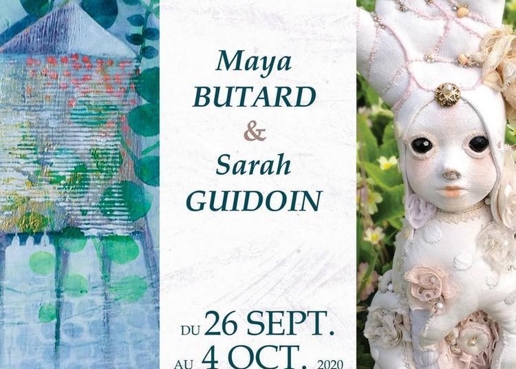Exposition de Maya Butard et de Sarah Guidoin à Ballan Mire