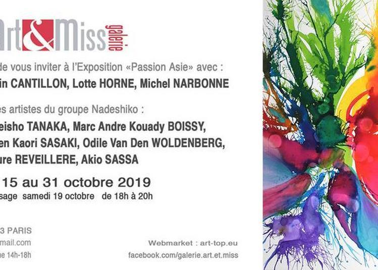 Exposition de peinture : Passion Asie à Paris 3ème