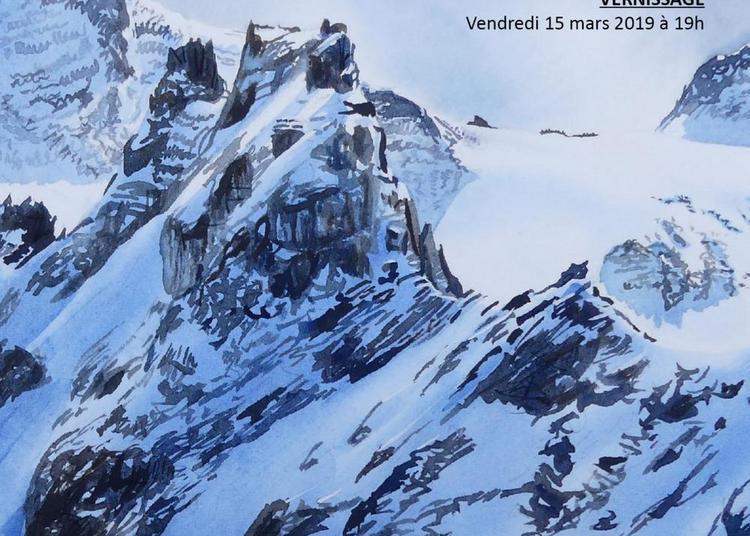 Exposition De Peinture « Portraits De Montagne » à Chatuzange le Goubet