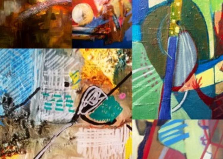 Exposition De Peinture « Vagabondage Coloré » à Chatuzange le Goubet
