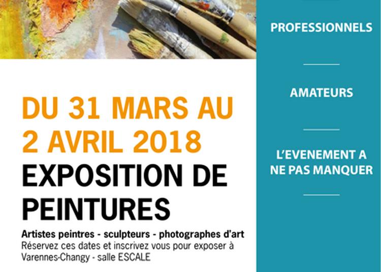 Exposition de peintures et d'artistes régionaux à Varennes Changy