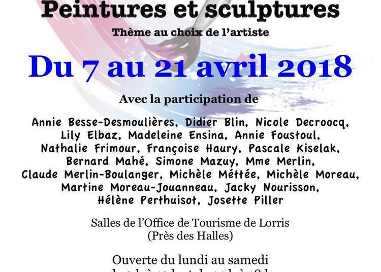 Exposition de peintures et de sculptures à Lorris
