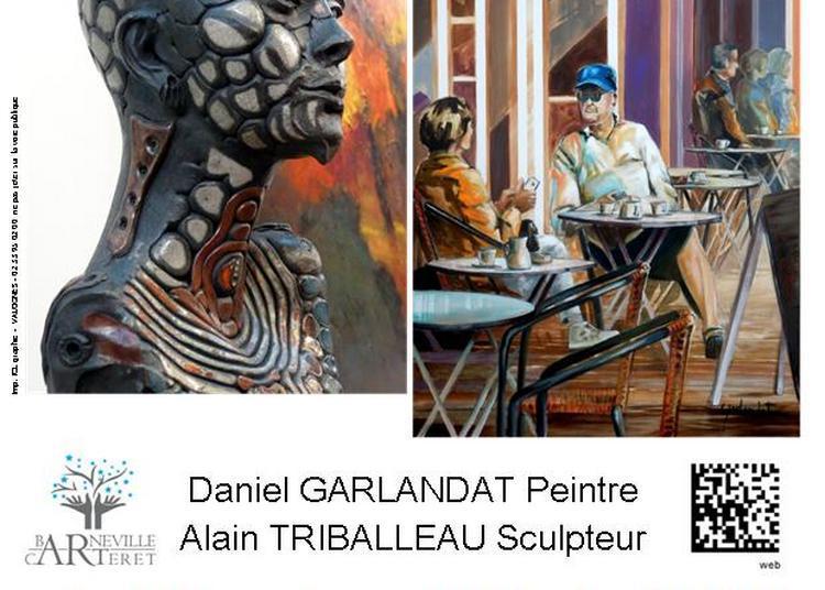 Exposition de peintures et de sculptures à Barneville Carteret