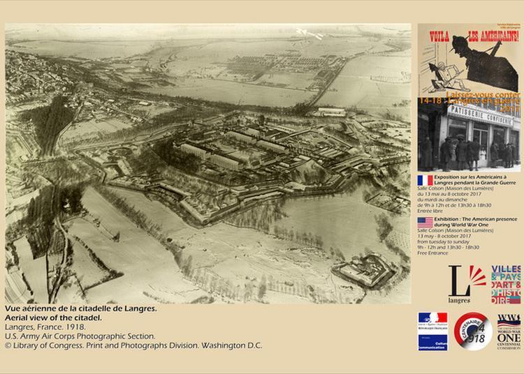 Exposition De Photos D'archives : Les Américains À Langres