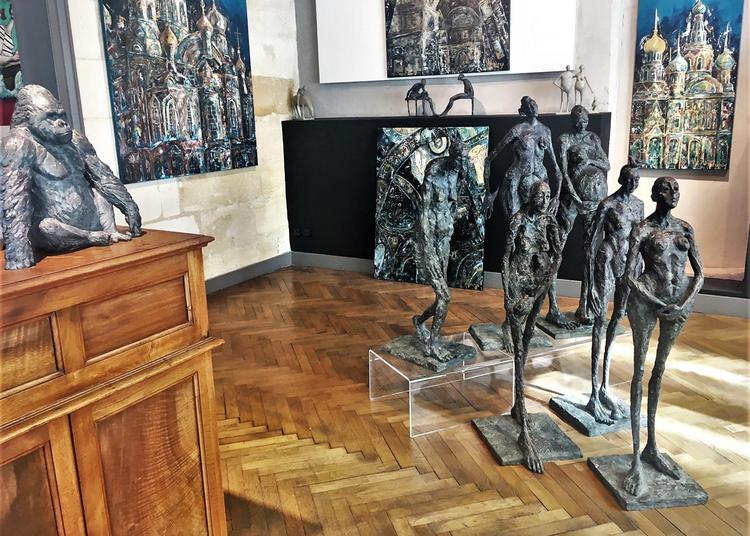 Exposition de sculptures collective à Bordeaux