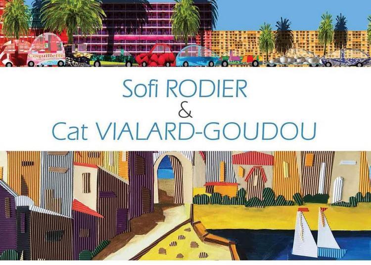 Exposition de Sofi Rodier et de Cat Vialard-Goudou à Ballan Mire