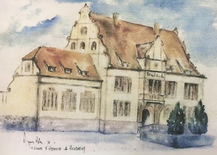 Exposition De Tableaux Et Poteries à Molsheim