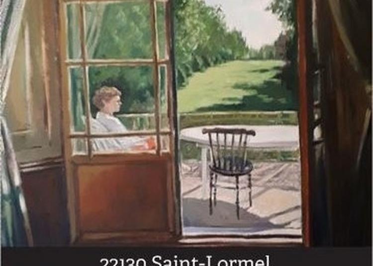 Exposition De Toiles Et Dessins Créés En Amuse-stylo/crayons, Inspirés Des Paysages Et Scènes Bretonnes. à Saint Lormel