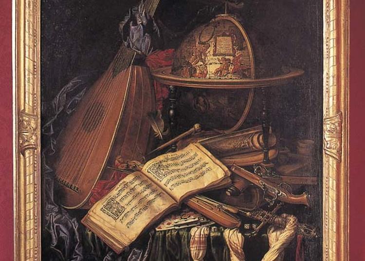 Exposition De Travaux Réalisés Autour D'un Tableau Intitulé Nature Morte Aux Instruments De Musique à Bourges