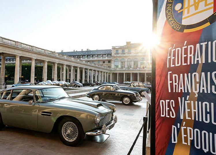 Exposition De Véhicules D'époque à Paris - Domaine National Du Palais-royal à Paris 1er