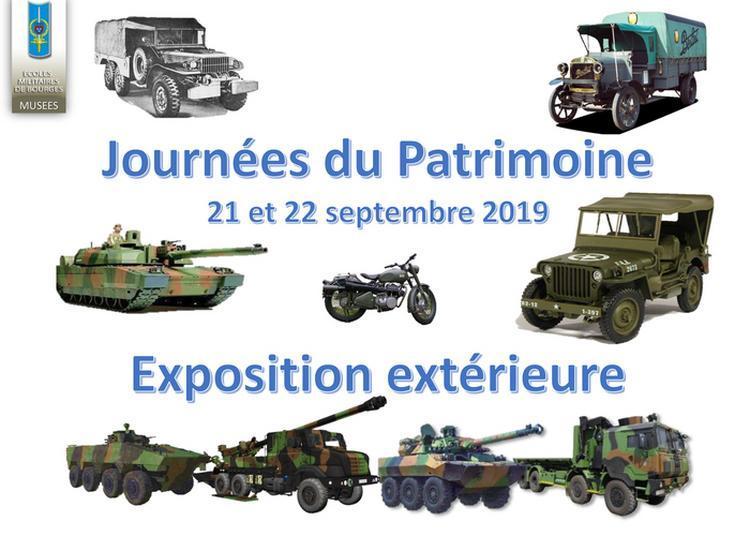 Exposition De Véhicules Militaires à Bourges