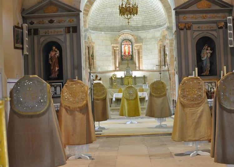Exposition De Vêtements Liturgiques : Les Jésuites à Jussy Champagne