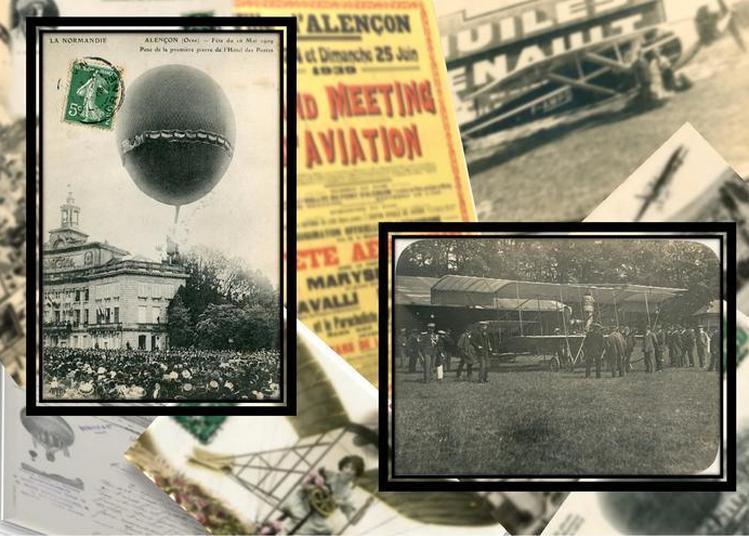 Exposition : Du Ballon à L'avion, On Prend De L'air Et De La Hauteur à Alençon ! à Alencon