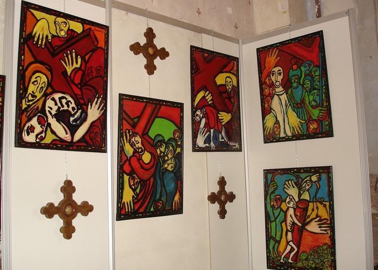 Exposition Du Chemin De Croix Bonamy à Orthoux Serignac Quilhan