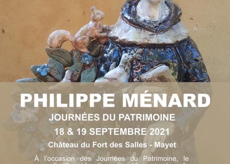 Exposition Du Sculpteur Céramiste Philippe Ménard à Mayet