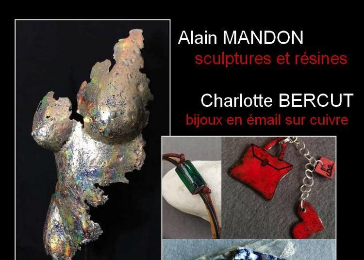 Exposition émaux et sculptures à Royan
