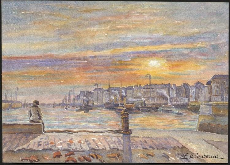 Exposition Emile Constant (1877-1940), Le Havre Une Autre Ville