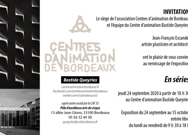 Exposition En séries à Bordeaux