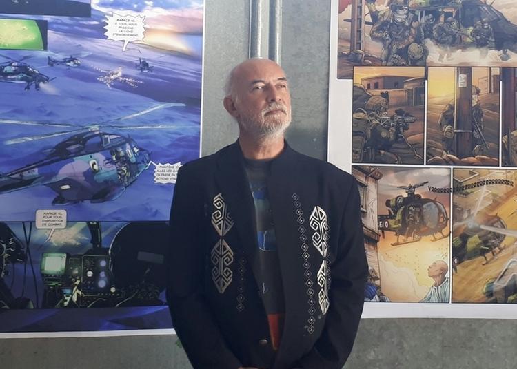 Exposition Eric Stoffel : De L'artiste à L'élève à Frejus