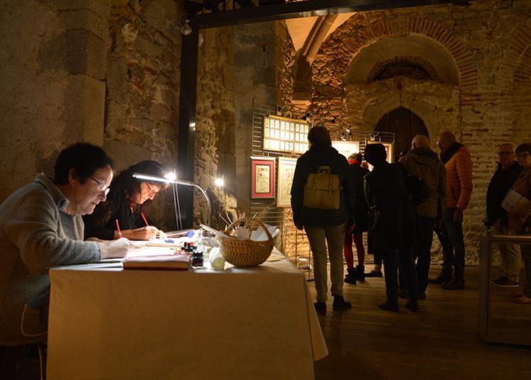 Exposition Et Animation Autour De La Calligraphie à Mayenne