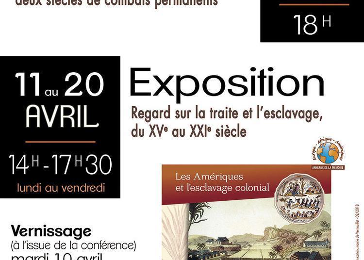 Exposition et conférence commémoration « 170 ans de l'abolition de l'esclavage » à Vernouillet
