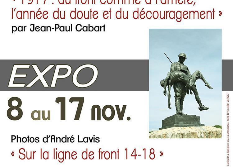 Exposition et conférence commémoration du centenaire de la guerre 1914-1918 à Vernouillet